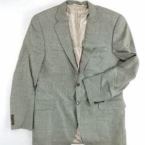 Burberry London Sports Coat Suit Silk Wool Blazer